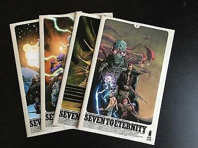 """Image: Lot of 7 - """"Seven to Eternity""""  (2016) #1-4 High grade, multiple prints"""