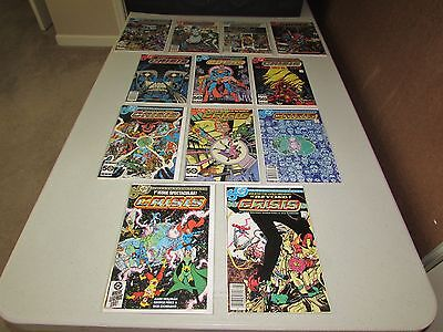 CRISIS ON INFINITE EARTHS  #1 - 12  (Complete Series)