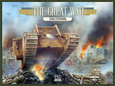 The Great War - Tank Expansion Board Game