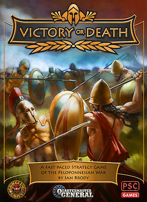 Quartermaster General: Victory or Death - A Peloponnesian War Strategy Game