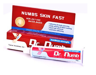 Creme Anesthesiante Dr.numb
