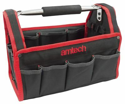 "Heavy Duty 13"" 330Mm Tool Box Chest Bag Storage Tote Bag Caddy Holdall Case Uk"