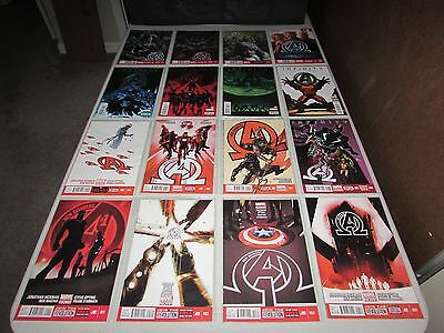 NEW AVENGERS  #1 - 33  (Complete Series)