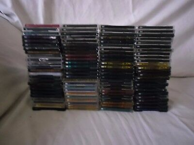 100 Used Blank Recordable Minidiscs. All Have Cases