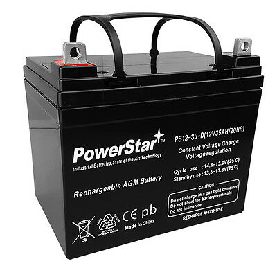 AB12350 12V 35AH Invacare Pronto M41 Wheelchair Battery Replacement