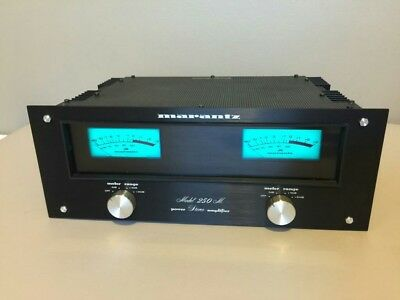 New!! Marantz 250M Black laser etched faceplate ONLY