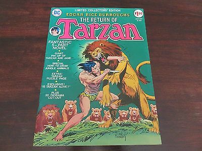 Limited Collectors' Edition #C-29 (1974, DC) Return of Tarzan VF-