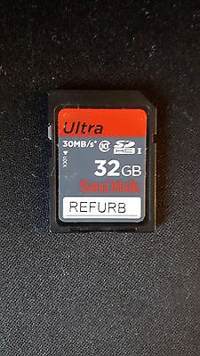 Refurbished sandisk 32gb SD card