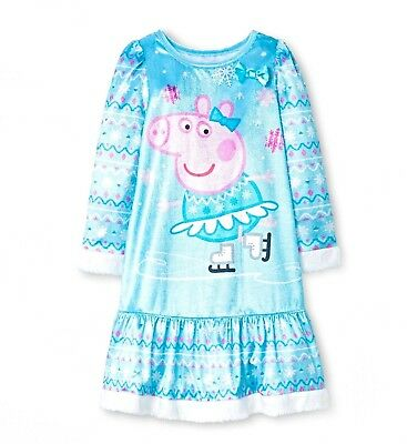 Toddler Girls Peppa Pig 2pc Cotton Pajamas Set Size 4T New with Tags! Nick Jr!