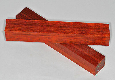 Pen Blanks Padauk African Wood Turning Blanks Long 155mm Two Pack
