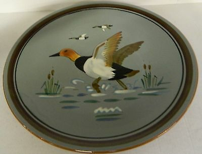 ** Vintage Stangl Pottery Plate Charger Canvas Back Duck**