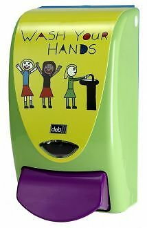 deb soap dispenser 1Ltr Now wash your hands new