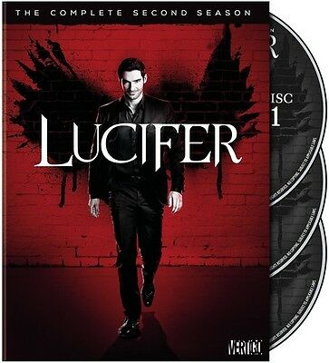 Lucifer: The Complete Second Season - 3 DISC SET (2017, DVD NUOVO) (REGIONE 1)