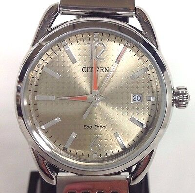 Citizen Eco-Drive Women's Silver Stainless Steel Watch FE-6080-65X NWT