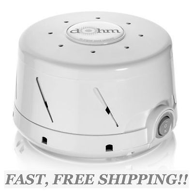 DOHM WHITE NOISE MACHINE w/ Natural Sound by MARPAC~White~ EASY TO USE AND SETUP