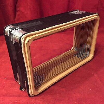 "Violet Hohner Club Victoria Accordion Repair Part - Bellows 11.75"" x 7"" x 3.25"""