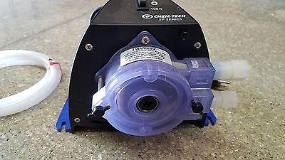 New Chem-Tech Peristaltic Chemical Metering Pump Pulsafeeder XP030LF4X
