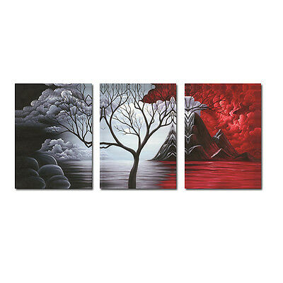 No Frame Painting Pictures Canvas Print Wall Art Home Decor Poster Abstract Tree