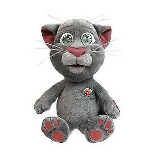 Peluche Sonore Interactive Parlante Talking Tom - 30 cm