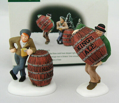 Dept 56 Dickens' Village - Ale Mates - #58417 - Colorful Characters W/ Kings Ale