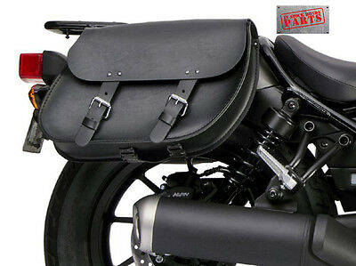 2017 2018  Honda Rebel CMX500 CMX 500 Throw Over Saddle Bags and Supports NEW