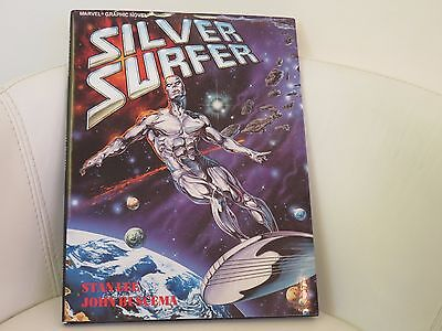 Silver Surfer: Judgment Day Marvel Graphic Novel Hardcover 1988 VF