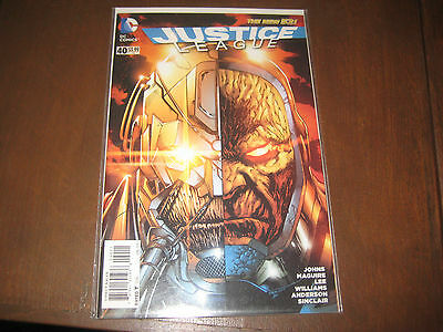 JUSTICE LEAGUE #40 - 1st Grail - DARKSEID'S DAUGHTER - key!! Movie!!