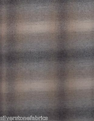 12.625 yds Highland Court Upholstery Fabric Dusk Plaid 190189H-424 Cinder FA