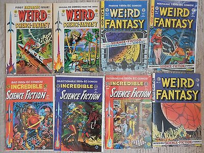 EC Anthology Reprints  WEIRD SCIENCE FANTASY,WEIRD FANTASY,INCREDIBLE SCIENCE