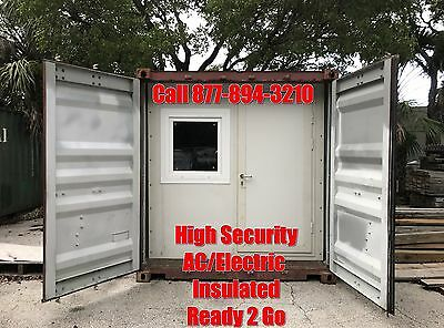 20' Office Container, Shipping Container Office, Tiny Home, Container House