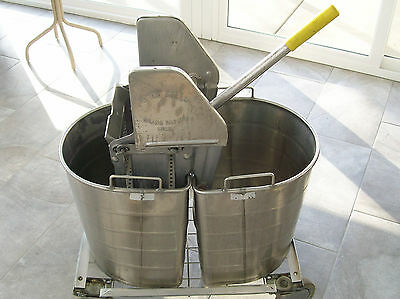 Royce Rolls Stainless Steel Mop Buckets