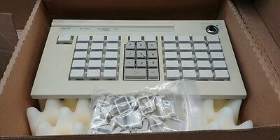 IBM 4690-3320 Point of Sale Keyboard With Key Caps 92F6320 93F1918