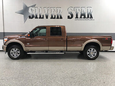 2011 Ford F-250  2011 F250 King Ranch 4WD Powerstroke FX4 LongBed CrewCab Loaded 1TXowner