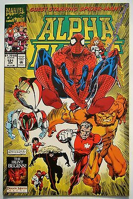 Alpha Flight #121 (June 93') NM- (9.2) vs Brass Bishop/ Amazing Spiderman App.