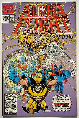 Alpha Flight Special Vol. 2 #1 (June 92') NM (9.4) First Mission/ Wolverine App.