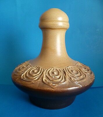 Ellis Pottery Large Lamp Base ~ Vintage 1960's - 70's At Its Best.