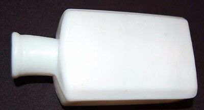 G.W. Laird Milk Glass Perfumer / Broadway, NY / Great condition