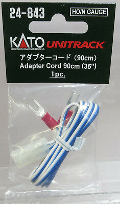 "Kato 24-843 Adapter Cord (90cm) (35"") for HO Scale & N Scale Kato Unitrack NIP"