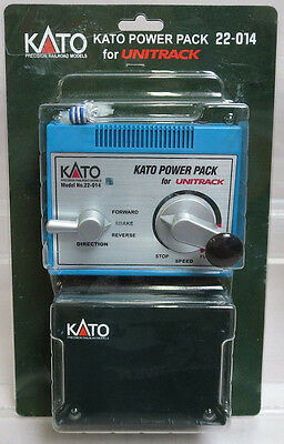 Kato 22-014 Kato DC Power Pack for use w/ HO Scale & N Scale Kato Unitrack NIP