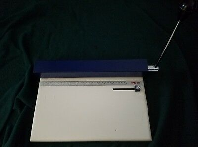 Demo unit PPE 25 Pin Plate Punch For Polyester Or Metal Plates