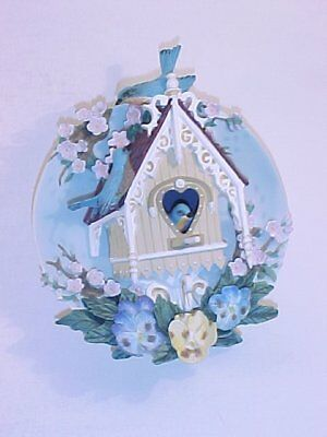 Bradford Exchange Our Gingerbread Cottage Plate MIB