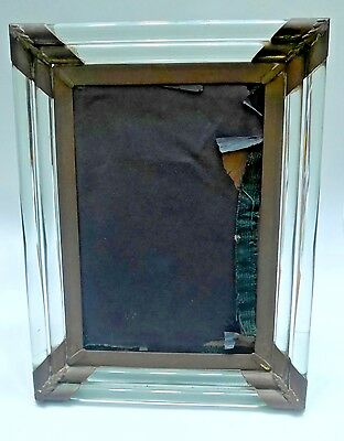 Antique Vintage Picture Frame Glass Frame 5x7 photo