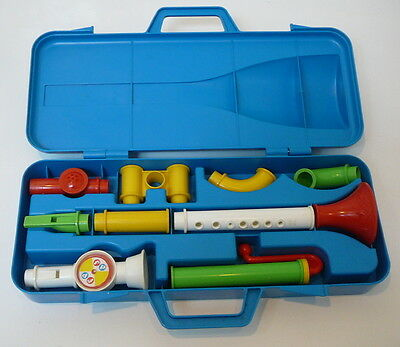 Fisher Price No. 604 'Crazy Combo Horn Set' (1984)