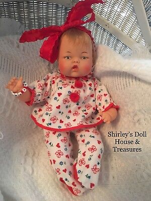 Vintage Antique Ideal TINY THUMBELINA 0TT-14 DOLL WORKS!