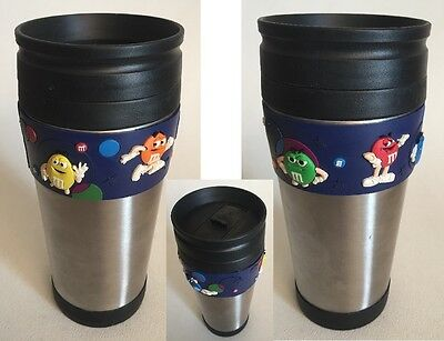 Unique M&M's Stainless Insulated Travel Mug Advertising Promotional Souvenir