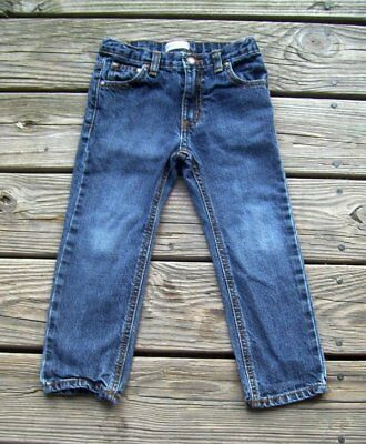 Toughskins Slim Straight Toddler Boy's Jeans Sz: 4T ~ Great Jeans