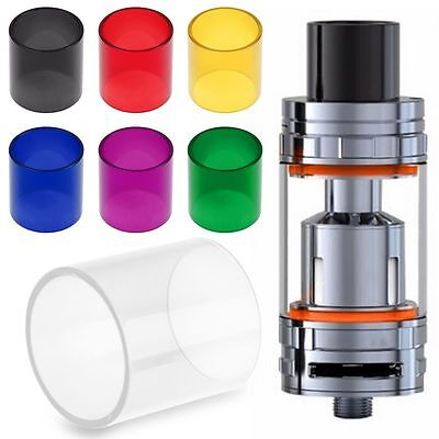 Replacement Glass Tube for SMOK TFV8 Big Baby Cloud Beast Subohm Atomizerr Tank