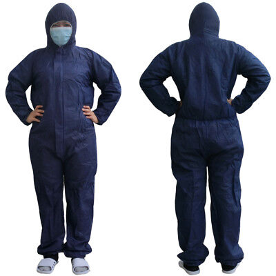 Non-woven Fabric Dustproof Clothing Coverall Overall Isolated Clothes Disposable