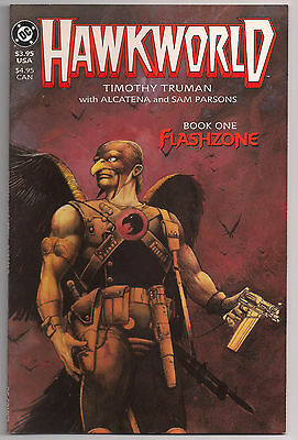 Vintage Hawkworld Book One Flashzone DC Comics Timothy Truman
