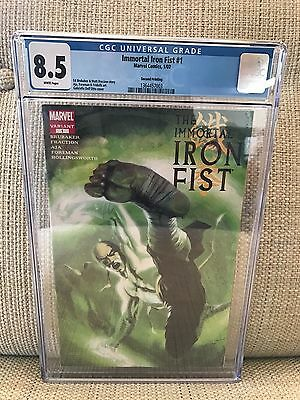 IMMORTAL IRON FIST #1 CGC 8.5 2nd Print Dell'Otto Variant  2007 NETFLIX TV show